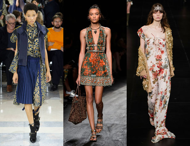 The Hits: Sacai, Valentino, Saint Laurent; Images: IMAXtree