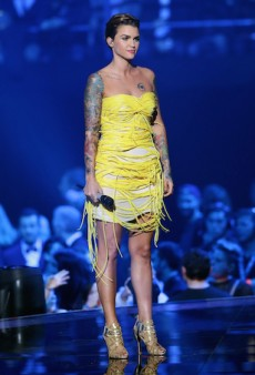 Ruby Rose's Many Outfit Changes for the 2015 MTV EMAs