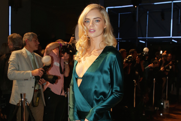 Samara Weaving at David Jones Fashion Launch