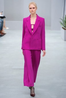 The Bright-Pink Suit Is Totally Having a Moment