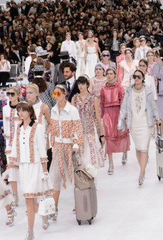 First Look: Chanel's Airport-Themed Spring 2016 Runway Show