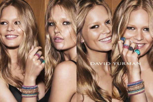 David Yurman Holiday 2015 Anna Ewers and Kate Moss by Mert & Marcus