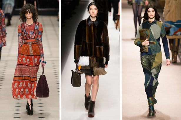 Fashion Trend Fall 2015: Patchwork