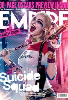 Margot Robbie's Harley Quinn Completes Empire's Epic 'Suicide Squad' Split Cover Concept