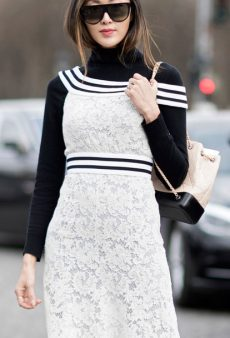 The Old-School Layering Piece Every Fashion Girl Owns