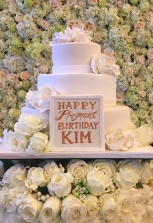 Kim Kardashian Pregnant Birthday Party