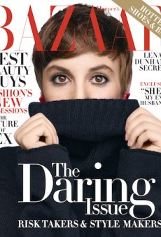 Lena Dunham Talks About the Pain of Internet Criticism to Harper's Bazaar