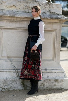 See Every Amazing Street Style Look from Outside the Paris Shows