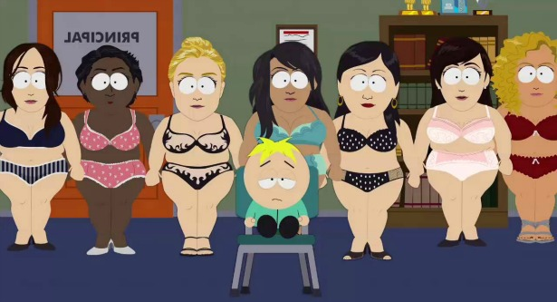 South Park Plus Size Models