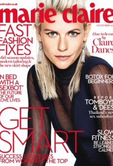 Claire Danes Has a Whole New Look on UK Marie Claire's November Cover (Forum Buzz)