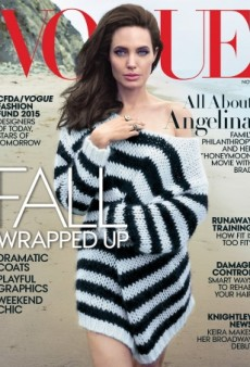 Angelina Jolie's Long Overdue Fifth Vogue Cover Receives Mixed Reviews (Forum Buzz)