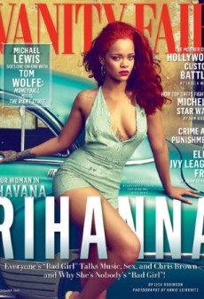 Rihanna's Long-Awaited Cover of Vanity Fair Finally Drops…and Disappoints (Forum Buzz)