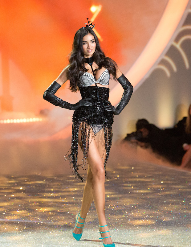 Kelly Gale walks the Victoria's Secret Fashion Show