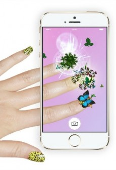 Win #ManiMonday with This 3-D Nail App