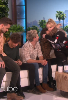 WATCH: Rebel Wilson Interrupts One Direction Interview to Drop 'How To Be Single' Trailer