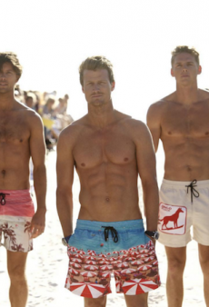 The Bachelorette's Richie Strahan Makes His Runway Debut