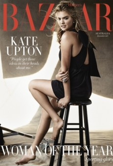Kate Upton Gives Us Cindy Crawford Vibes on Harper's Bazaar Australia (Forum Buzz)