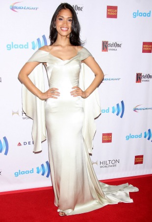 25th Annual GLAAD Media Awards held at the Waldorf Astoria Hotel - Arrivals Featuring: Geena Rocero Where: New York, New York, United States When: 04 May 2014 Credit: Joseph Marzullo/WENN.com