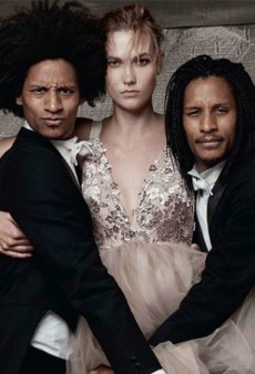 WATCH: Karlie Kloss and Les Twins Dance Around in Eveningwear for Vogue UK