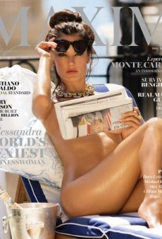 Alessandra Ambrosio Bares All on Maxim's Hot New Cover (Forum Buzz)
