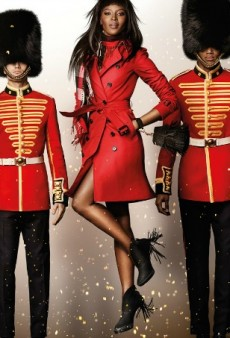 Naomi Campbell, Sir Elton John and Romeo Beckham Star in Burberry's Billy Elliot-Themed Holiday Ads