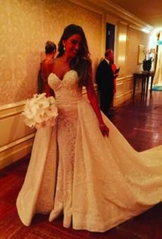Sofia Vergara's (Stunning) Wedding Gown Took 1,657 Hours to Make
