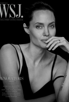 Angelina Jolie's Effortless Beauty Shines Bright on This WSJ. Magazine Cover (Forum Buzz)