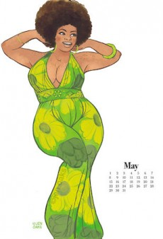 This New Curvy Pin-Up Calendar Is the Perfect Buy for 2016