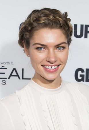 Jessica Hart at Glamour Awards