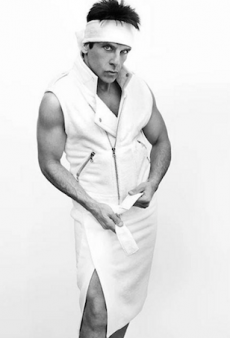 Derek Zoolander Is the Latest Addition to Mario Testino's Towel Series