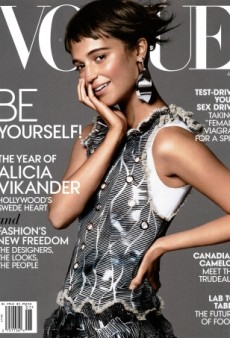 Alicia Vikander Sets Standards High on Vogue's Refreshing January Cover (Forum Buzz)