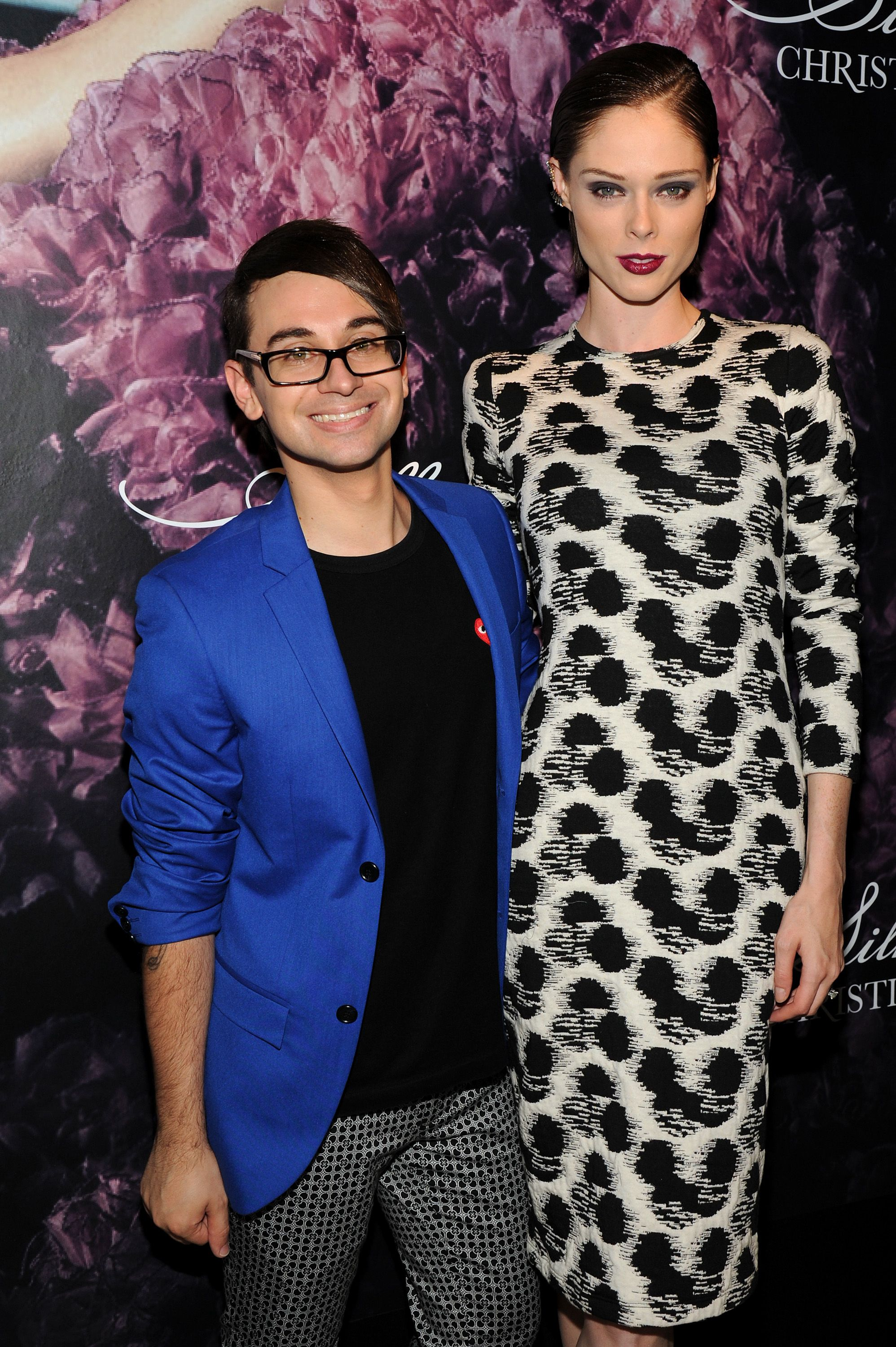 Coco Rocha attends Christian Siriano's celebration of his new fragrance