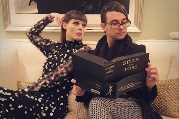 Coco Rocha and Christian Siriano read her new book