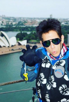 Watch: Derek Zoolander Walks Sydney Harbour Bridge's 'Highest Catwalk In the World'