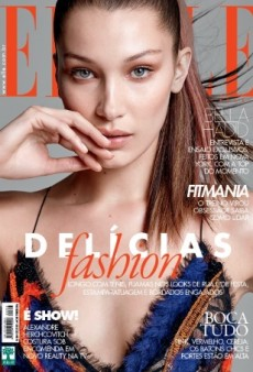 Bella Hadid Serves Up Supermodel Realness on ELLE Brazil's February Cover (Forum Buzz)