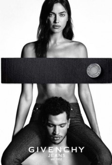 Givenchy's New Campaign With a Topless Irina Shayk Looks Awfully Familiar (Forum Buzz)