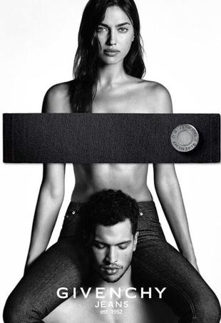 Givenchy Jeans S/S 2016 : Irina Shayk & Chris Moore by Luigi & Iango