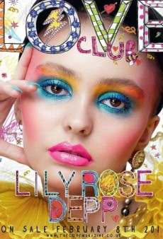 Lily-Rose Depp Plays the Sad Clown on LOVE Magazine's Latest Cover (Forum Buzz)
