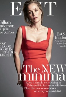 The Edit's Unretouched Cover of Gillian Anderson Is Perfection (Forum Buzz)