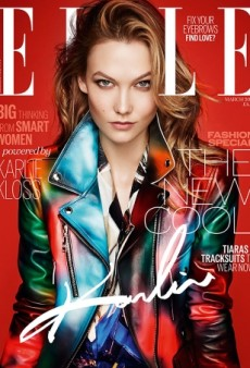 ELLE UK Taps a Smizing Karlie Kloss for the Cover of the March Spring Fashion Issue (Forum Buzz)