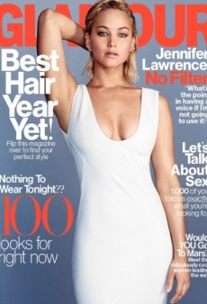 Jennifer Lawrence Looks Radiant on the Cover of Glamour's February Issue (Forum Buzz)