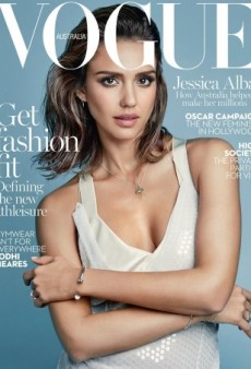 Where's the Fashion on Jessica Alba's First-Ever Vogue Cover? (Forum Buzz)