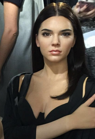 Kendall Jenner's Wax Figure Is Helping Diehard Fans Experience Fashion Week