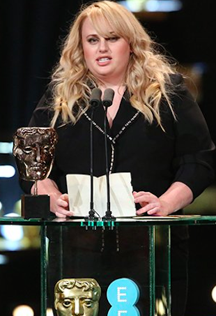 Rebel Wilson BAFTA speech