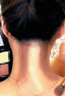Neck Contouring Is Officially a Thing