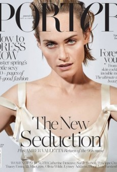 Amber Valletta's Porter Cover Image Looks Like an Outtake (Forum Buzz)