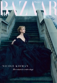 Nicole Kidman Brings the Drama for UK Harper's Bazaar (Forum Buzz)