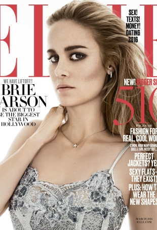 Oscar Nominee Brie Larson Is ELLE's March Cover Girl (Forum Buzz)