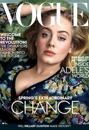 Adele's Long-Awaited Second US Vogue Cover Has Landed! (Forum Buzz)