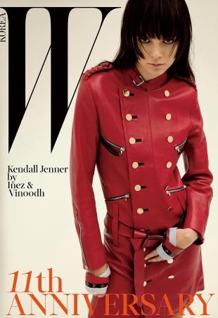 W Korea March 2016 : Kendall Jenner by Inez van Lamsweerde & Vinoodh Matadin